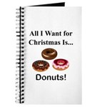 Christmas Donuts Journal