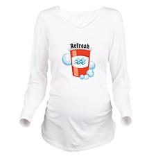 Refresh Long Sleeve Maternity T-Shirt