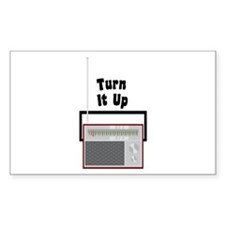 Turn It Up Decal
