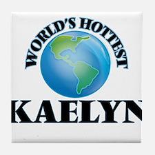 World's Hottest Kaelyn Tile Coaster