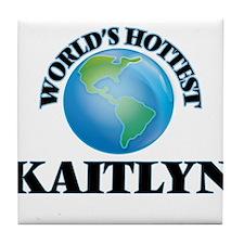 World's Hottest Kaitlyn Tile Coaster