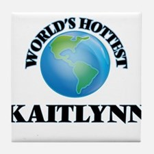 World's Hottest Kaitlynn Tile Coaster