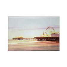 Santa Monica Pier Sunrise Magnets