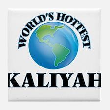 World's Hottest Kaliyah Tile Coaster