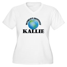 World's Hottest Kallie Plus Size T-Shirt