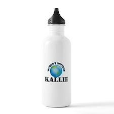 World's Hottest Kallie Water Bottle