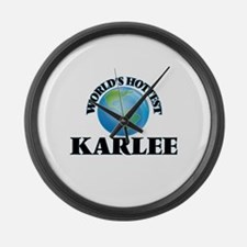 World's Hottest Karlee Large Wall Clock