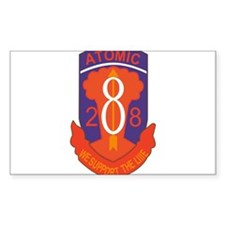 28th Field Artillery BN., 8th Infantry Decal