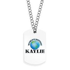 World's Hottest Kaylie Dog Tags