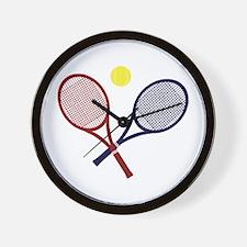 Tennis Rackets Wall Clock