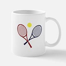 Tennis Rackets Mugs