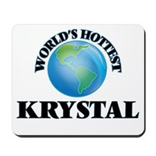 World's Hottest Krystal Mousepad