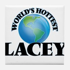 World's Hottest Lacey Tile Coaster