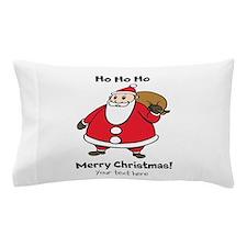 Merry Christmas Santa Claus Pillow Case