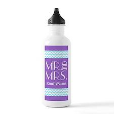 Personalized Mr. Mrs. Water Bottle