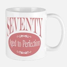 70th aged to perfection Mug