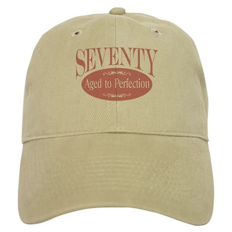 70th aged to perfection Cap