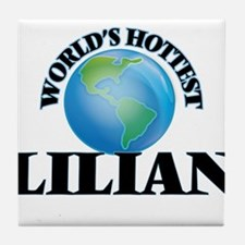 World's Hottest Lilian Tile Coaster