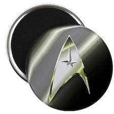 Black Silver Star Trek Magnets