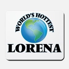 World's Hottest Lorena Mousepad