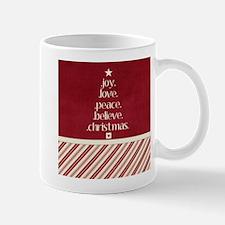 Christmas Word Tree Mugs