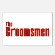 The Groomsmen (Mafia) Postcards (Package of 8)