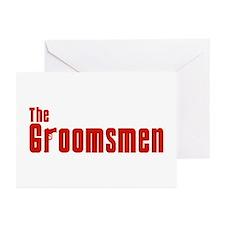 The Groomsmen (Mafia) Greeting Cards (Pk of 10