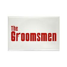 The Groomsmen (Mafia) Rectangle Magnet