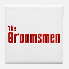 The Groomsmen (Mafia) Tile Coaster