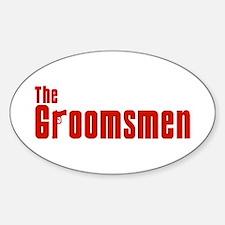 The Groomsmen (Mafia) Oval Decal