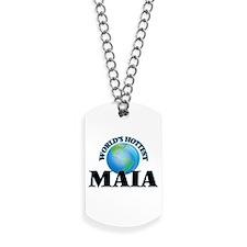 World's Hottest Maia Dog Tags