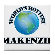 World's Hottest Makenzie Tile Coaster