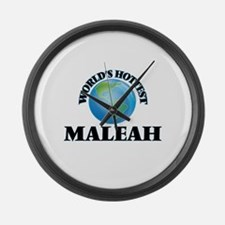 World's Hottest Maleah Large Wall Clock