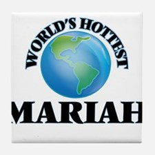 World's Hottest Mariah Tile Coaster