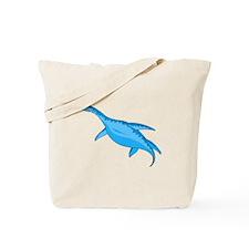 Blue Macroplata Tote Bag
