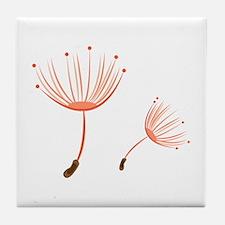 Floral Pod Tile Coaster