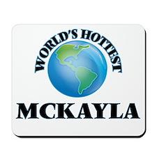 World's Hottest Mckayla Mousepad
