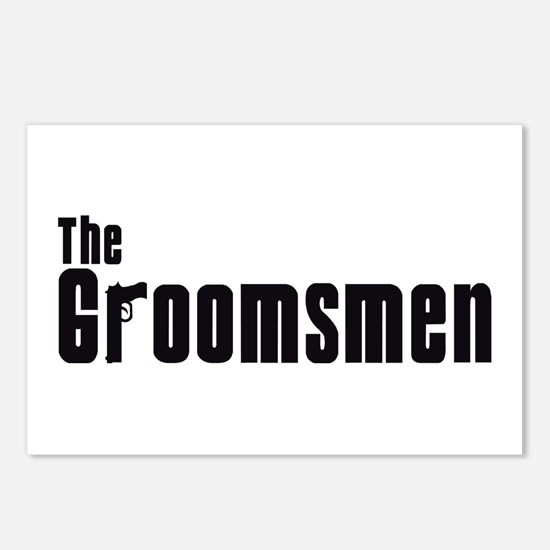 The Groomsmen (Mafia) Postcards (Package of 8)