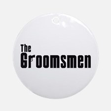 The Groomsmen (Mafia) Ornament (Round)