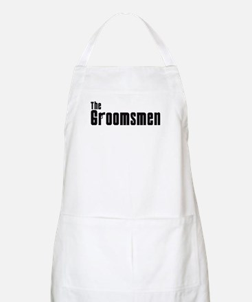 The Groomsmen (Mafia) BBQ Apron