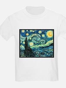 "Van Gogh's ""Starry Night"" Kids T-Shirt"