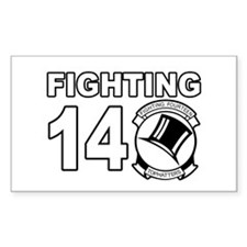 VF-14 Tophatters Rectangle Decal