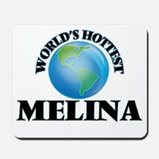 World's Hottest Melina Mousepad
