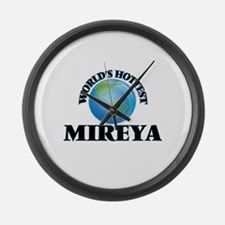 World's Hottest Mireya Large Wall Clock