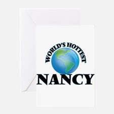 World's Hottest Nancy Greeting Cards