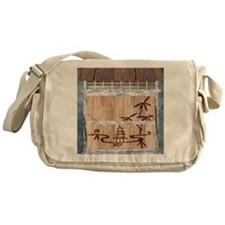 Touch of the Orient Messenger Bag