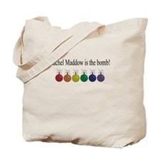 Rachel Maddow is the bomb.PNG Tote Bag