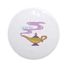 Set Me Free Ornament (Round)