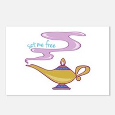 Set Me Free Postcards (Package of 8)