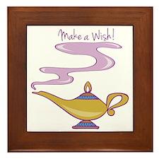 Make A Wish Framed Tile